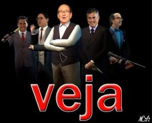 """Internauta desmonta nova farsa de """"Veja"""", a revista parceira do crime organizado."""
