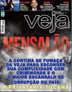"""Folha de São Paulo """" Grupo Abril""""não tem moral nenhuma para falar do Apostolo Santiago."""