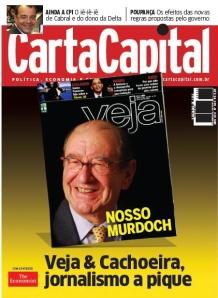 Escândalo da revista Veja é matéria da capa de CartaCapital.
