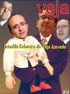 O abestalhado Reinaldo Azevedo, Reverendo Mon e o falso profeta Silas malafaia.