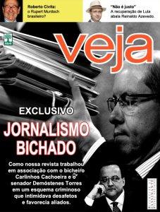 Veja, como o crime organizado faz jornalismo.Acorda STJ, disperta Ministerio Público.